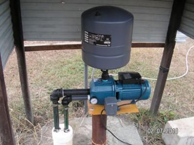 pemasangan jet pump