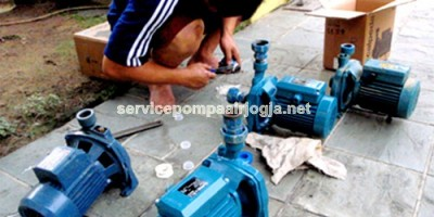 servis pompa air bantul
